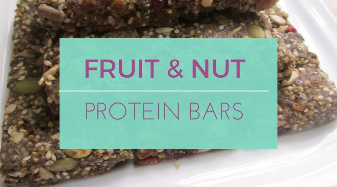 Fruit & Nut Protein Bar