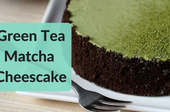 Green Tea Matcha Cheesecake