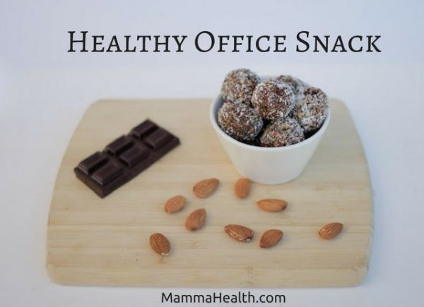 Healthy Office Snack