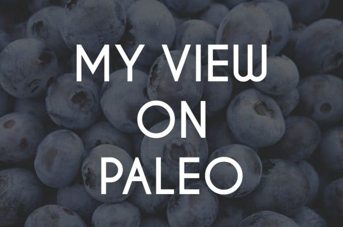My view on paleo diet